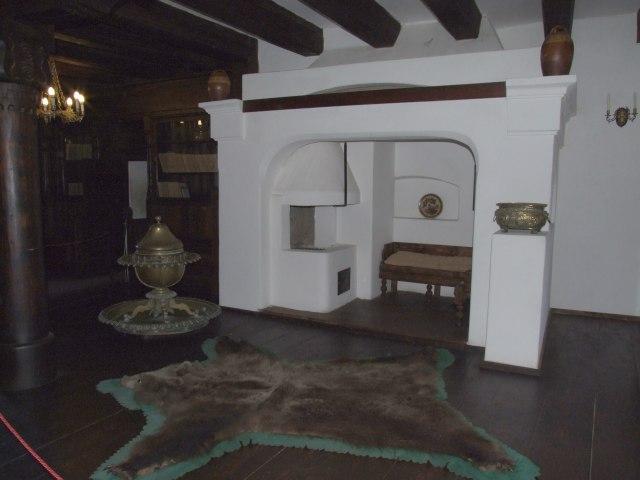 Интерьер замка Бран