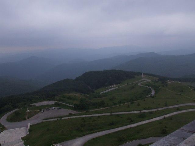Шипка. Вид с Памятника Свободы