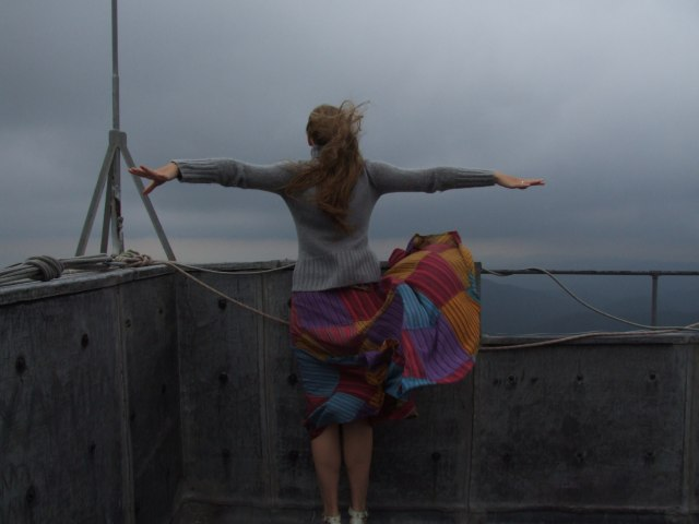Шипка. На крыше Памятника Свободы
