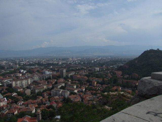 Панорама Пловдива
