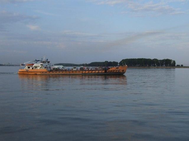Паром через Дунай