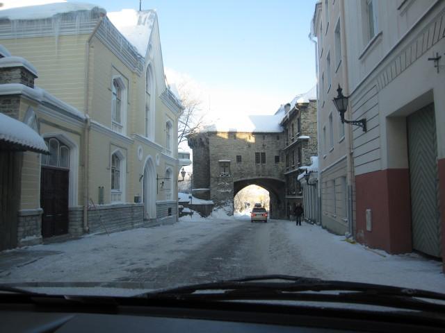 Покидая Старый Таллин