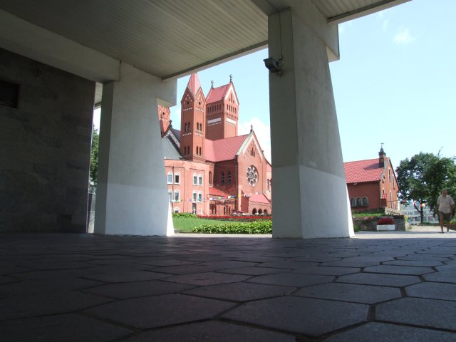 Минск. Красный костел