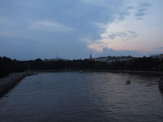 Минск. Река Свислочь