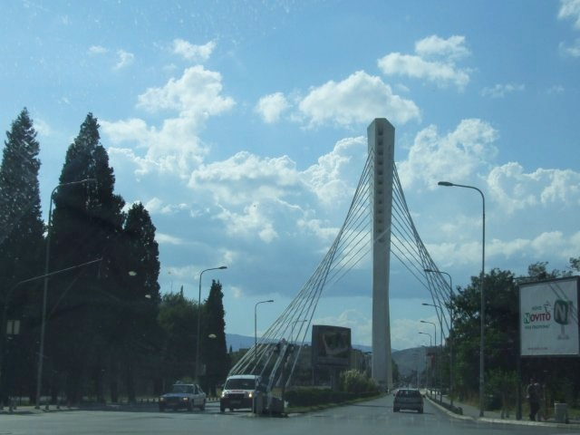 Подгорица. Мост Миллениум