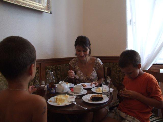 Будапешт. Кофейня